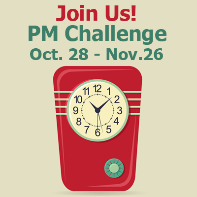 October PM Challenge Invitation!